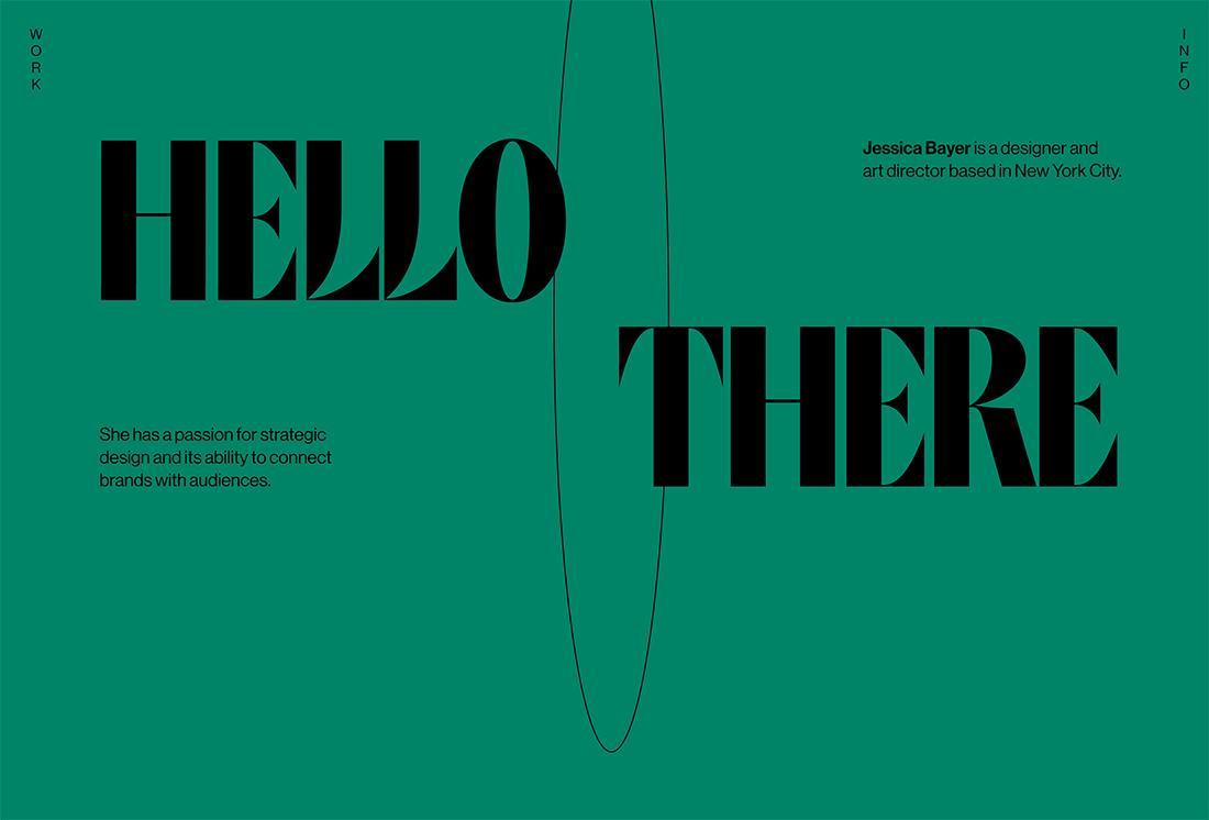 jessb Design Trend: Experimental Typefaces & Fonts design tips