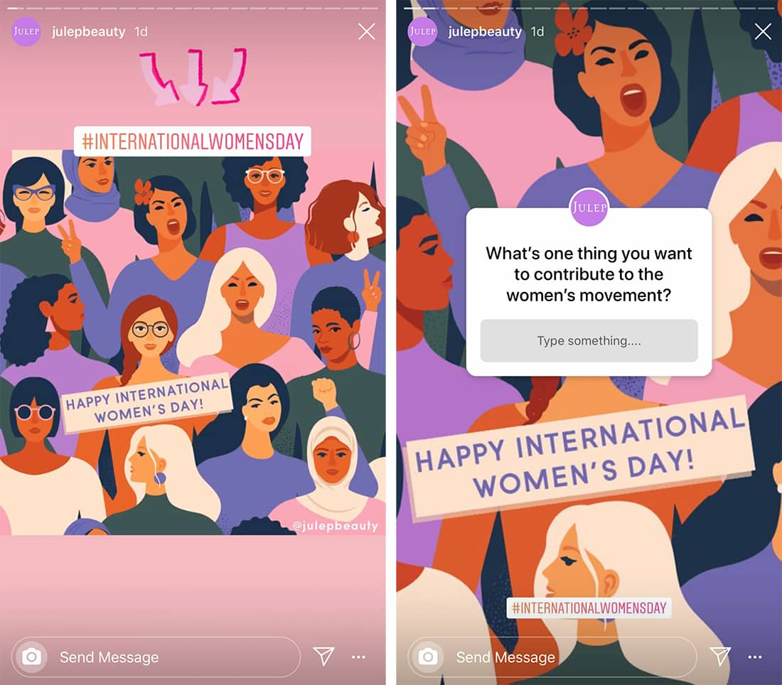 instagram story design