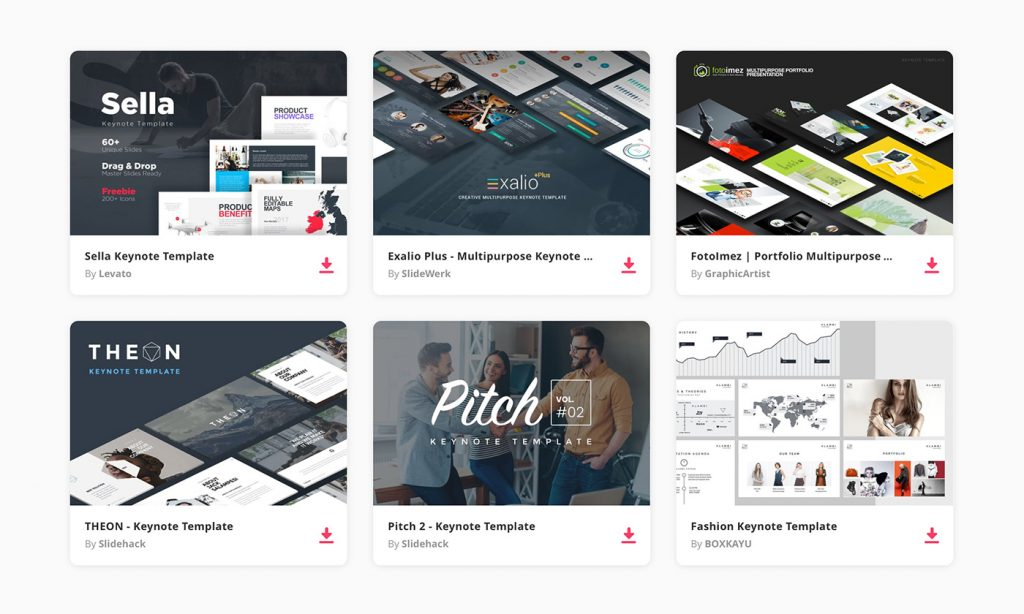 30 best keynote templates of 2018 design shack for Agency pitch template
