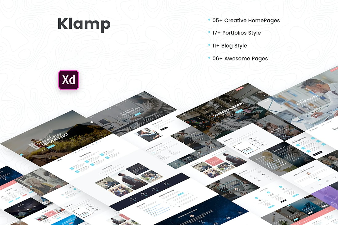 adobe xd templates