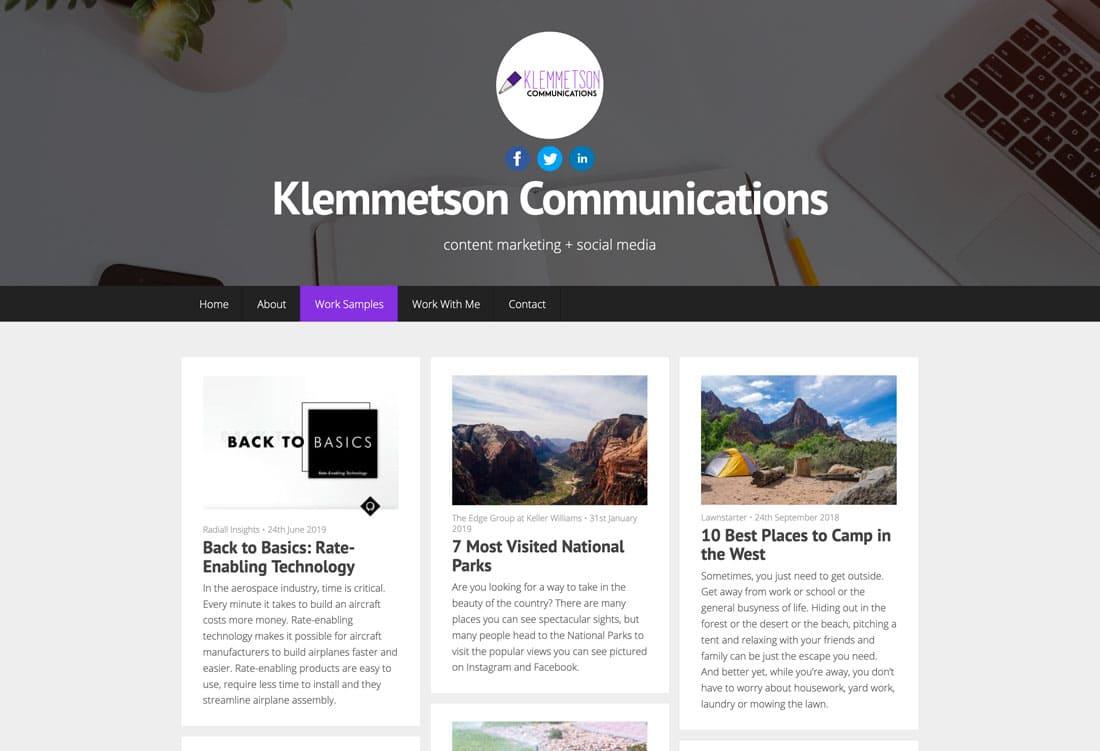 klemmc 10+ Best Free Portfolio Website Tools & Templates in 2021 design tips