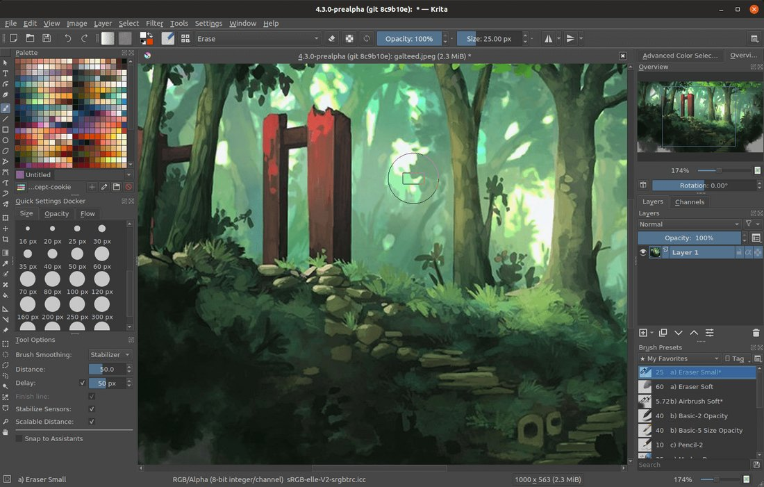krita-2 Best Drawing Software for Digital Artists (PC & Mac) design tips