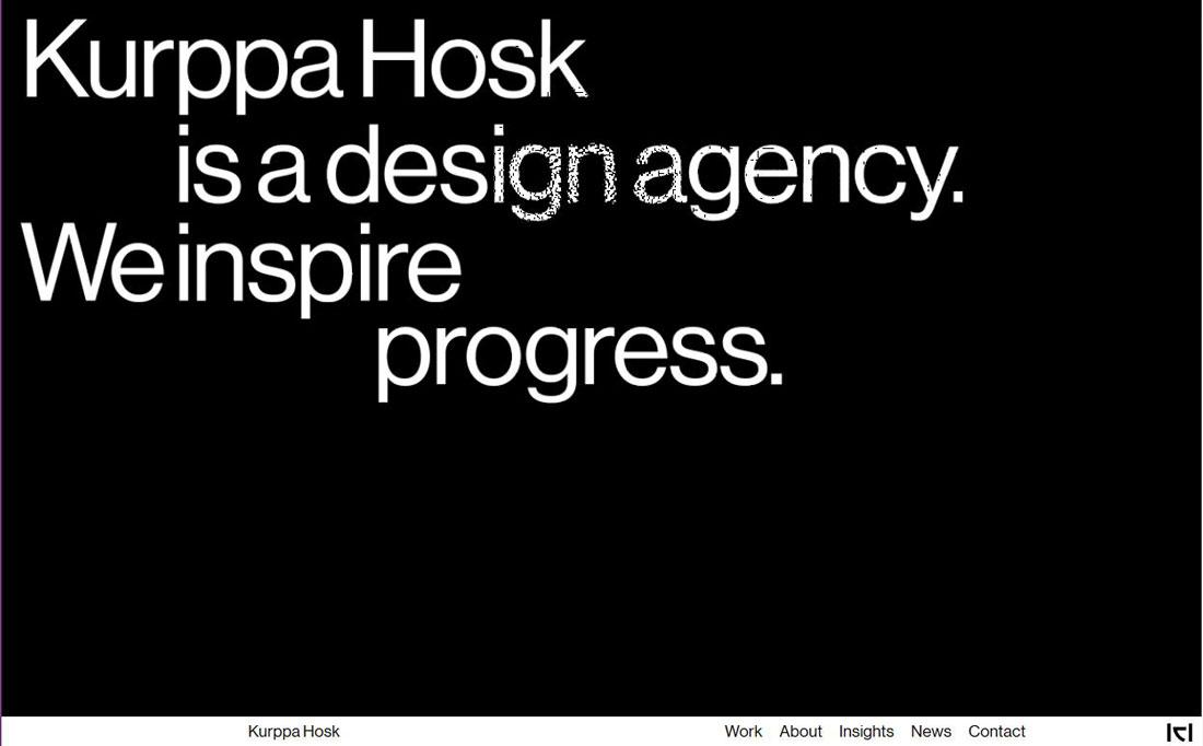 kurppa 10 Typography Trends for 2019 design tips