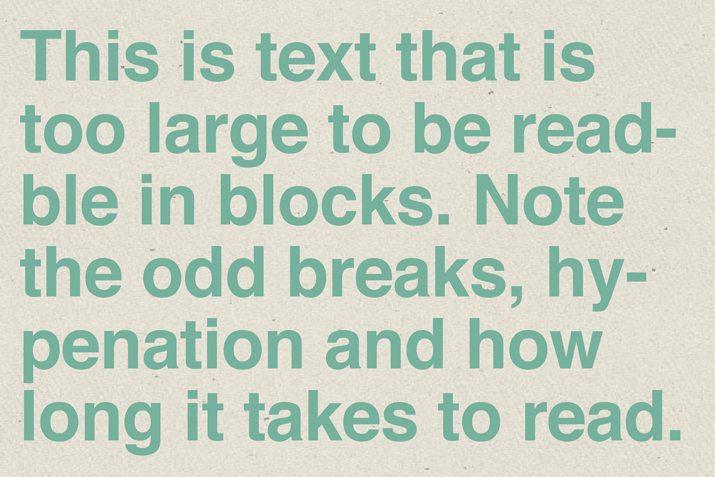 readability-text