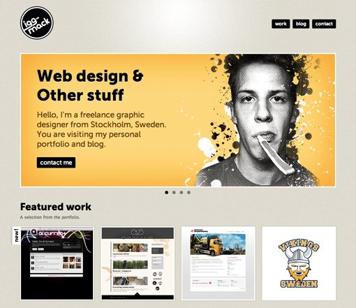 Web Page Design Ideas example of a website Screenshot