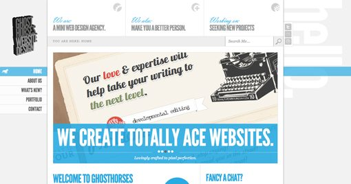 screenshot - Web Page Design Ideas