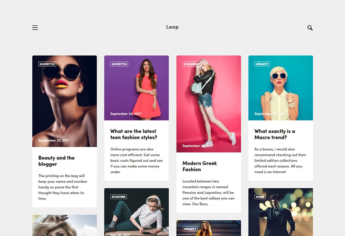 30 Beautifully Designed Ghost Themes 1