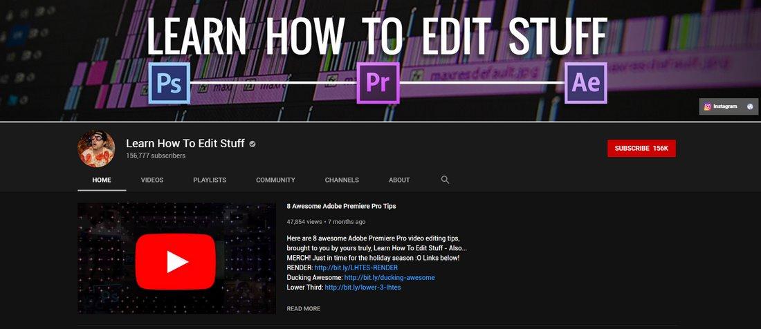 learn how to edit stuff youtube