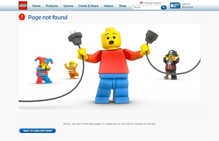 404 page