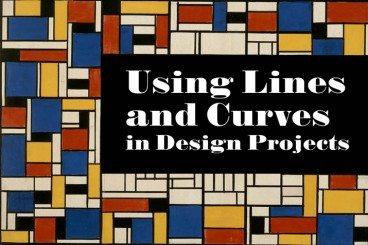 Using Lines and Curves in Design Projects