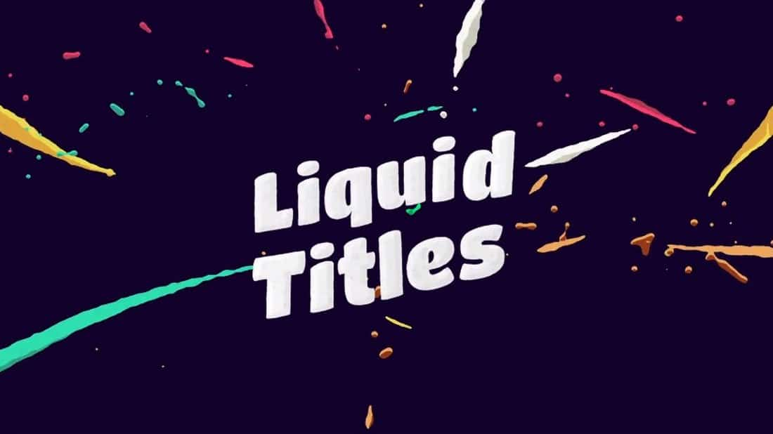 liquid-after-effects-title-template