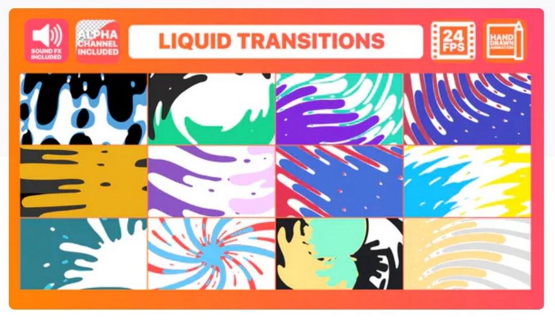 liquid-transitions-premiere-pro-template 30+ Best Premiere Pro Templates 2019 design tips