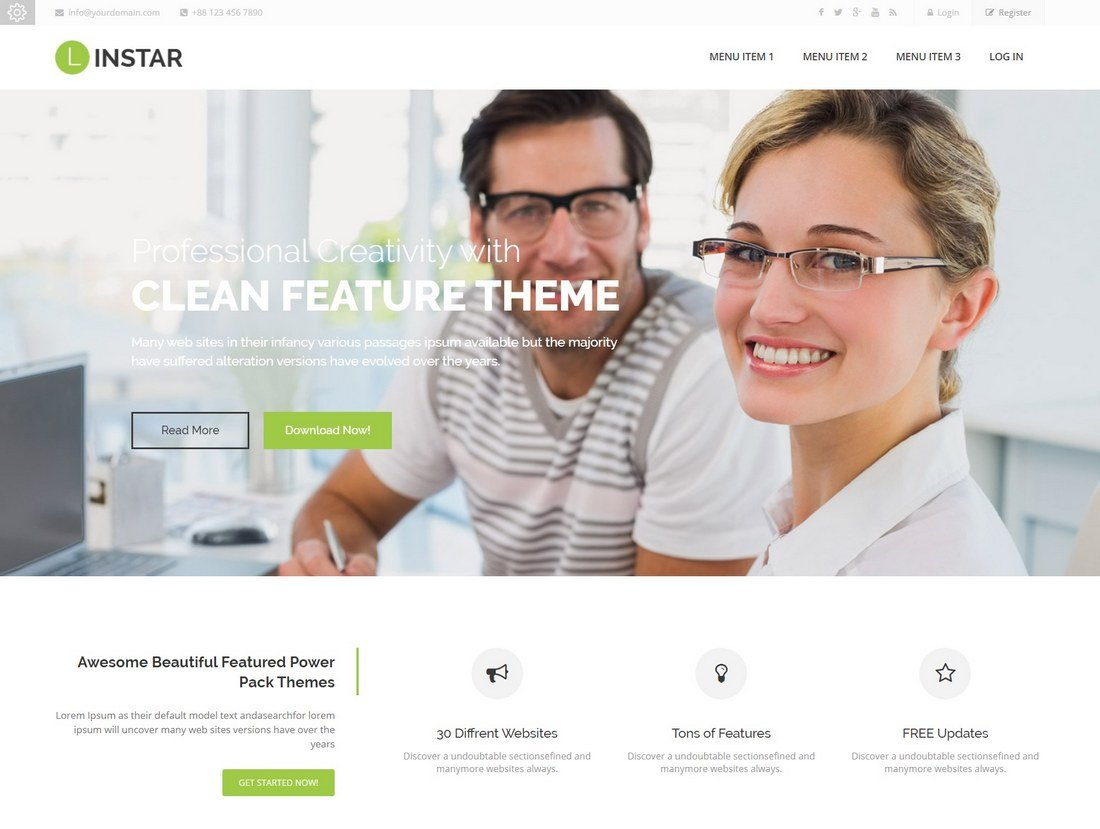 listar-moodle-theme 15+ Best Moodle Themes of 2019 design tips