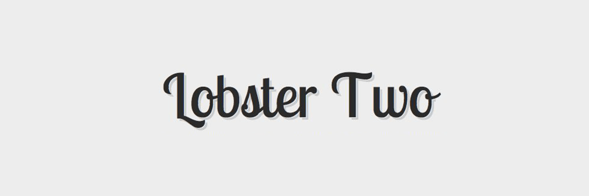 lobster-two The 10 Best Script and Handwritten Google Fonts design tips