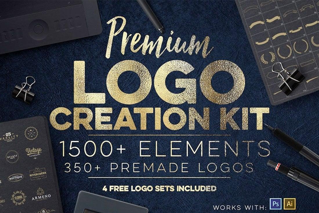 modèles de logo illustrateur