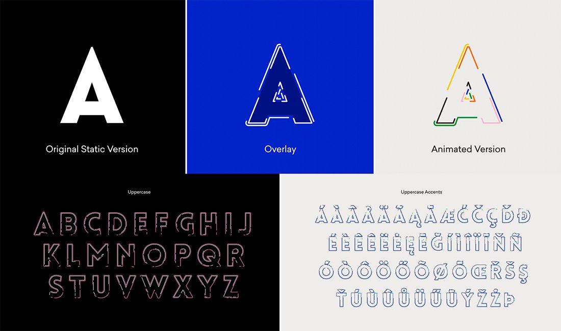 experimental typefaces