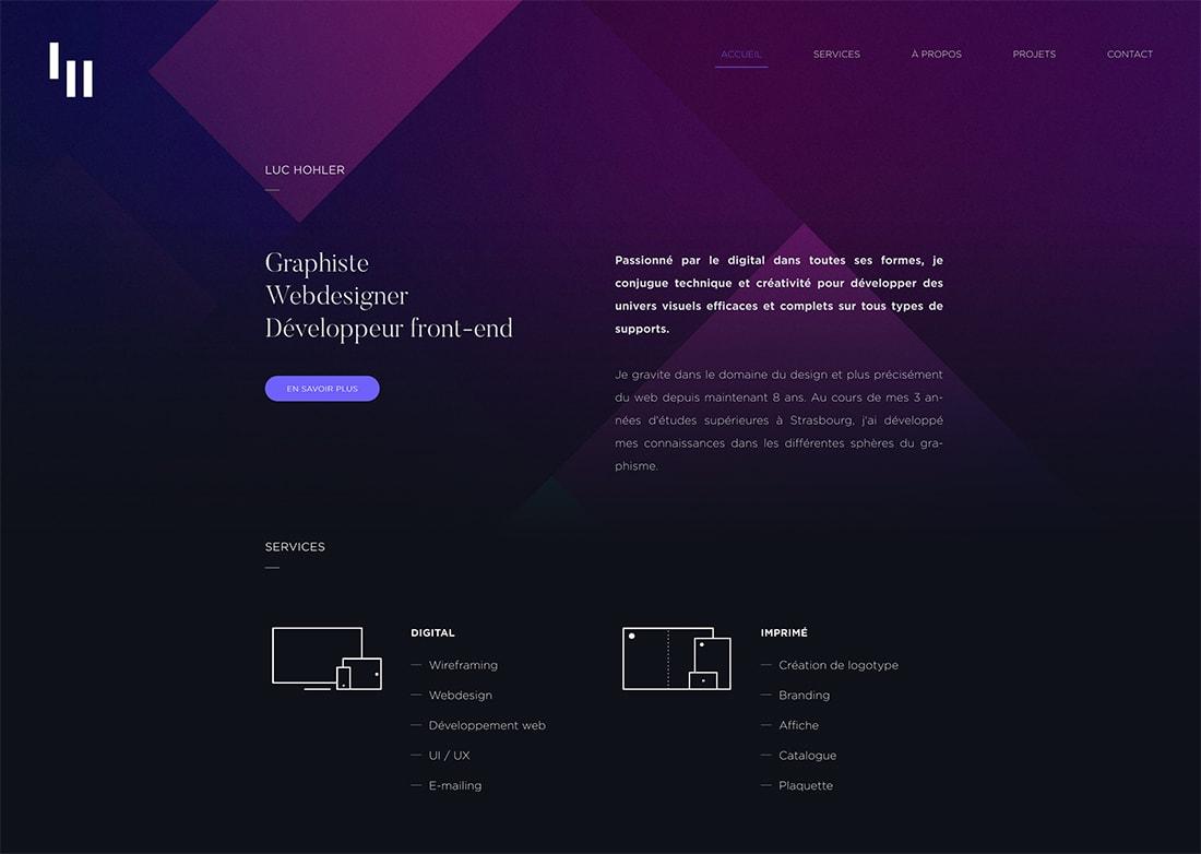 luc Design Trend: Mono Gradients design tips  Trends|color|Inspiration|trends|web design