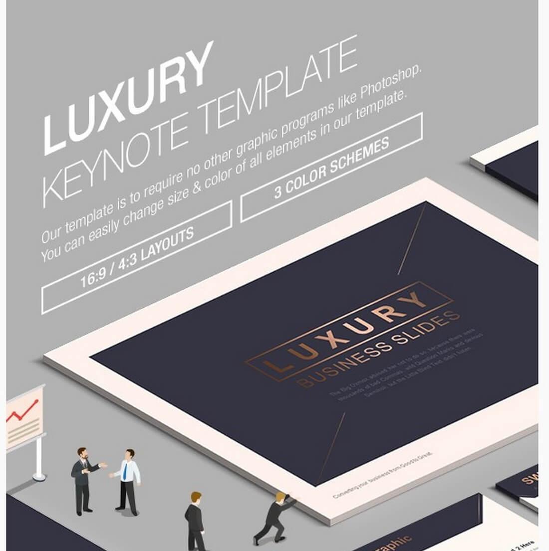 Keynote Business Slide Templates Design Shack - Luxury go to market presentation scheme