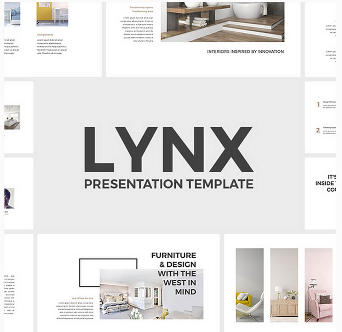 lynx 30+ Best Keynote Templates of 2018 design tips