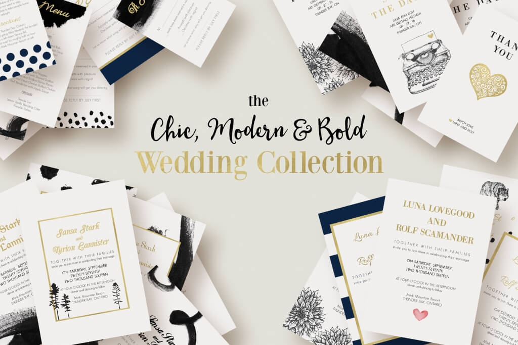 90+ gorgeous wedding invitation templates | design shack, Invitation templates
