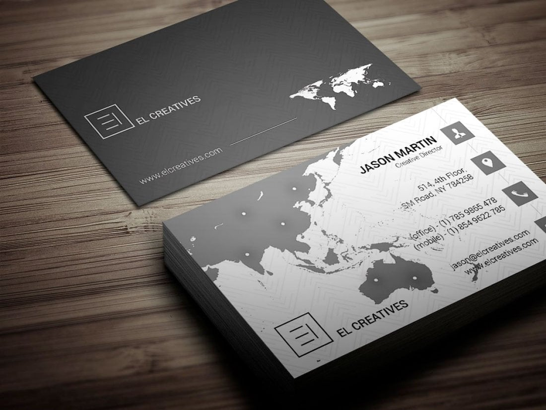 mapcard What to Put on a Business Card: 8 Creative Ideas design tips