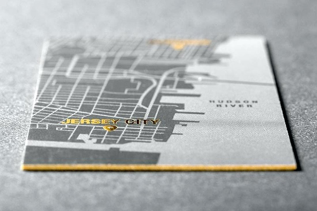 mapcard2 What to Put on a Business Card: 8 Creative Ideas design tips