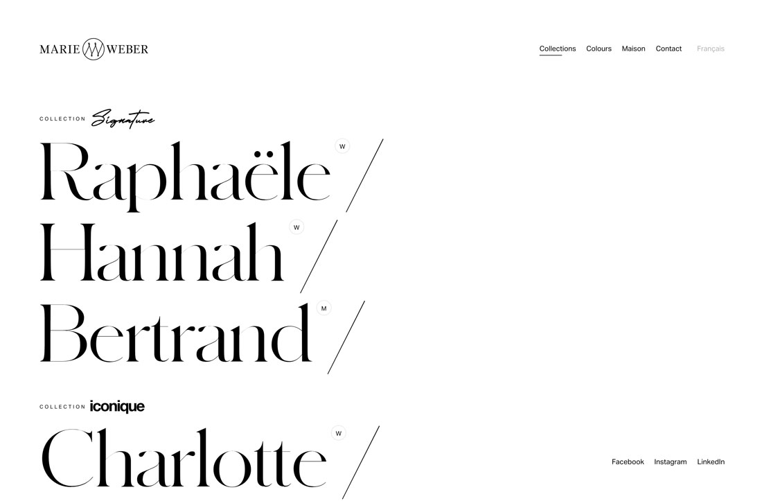 pair fonts