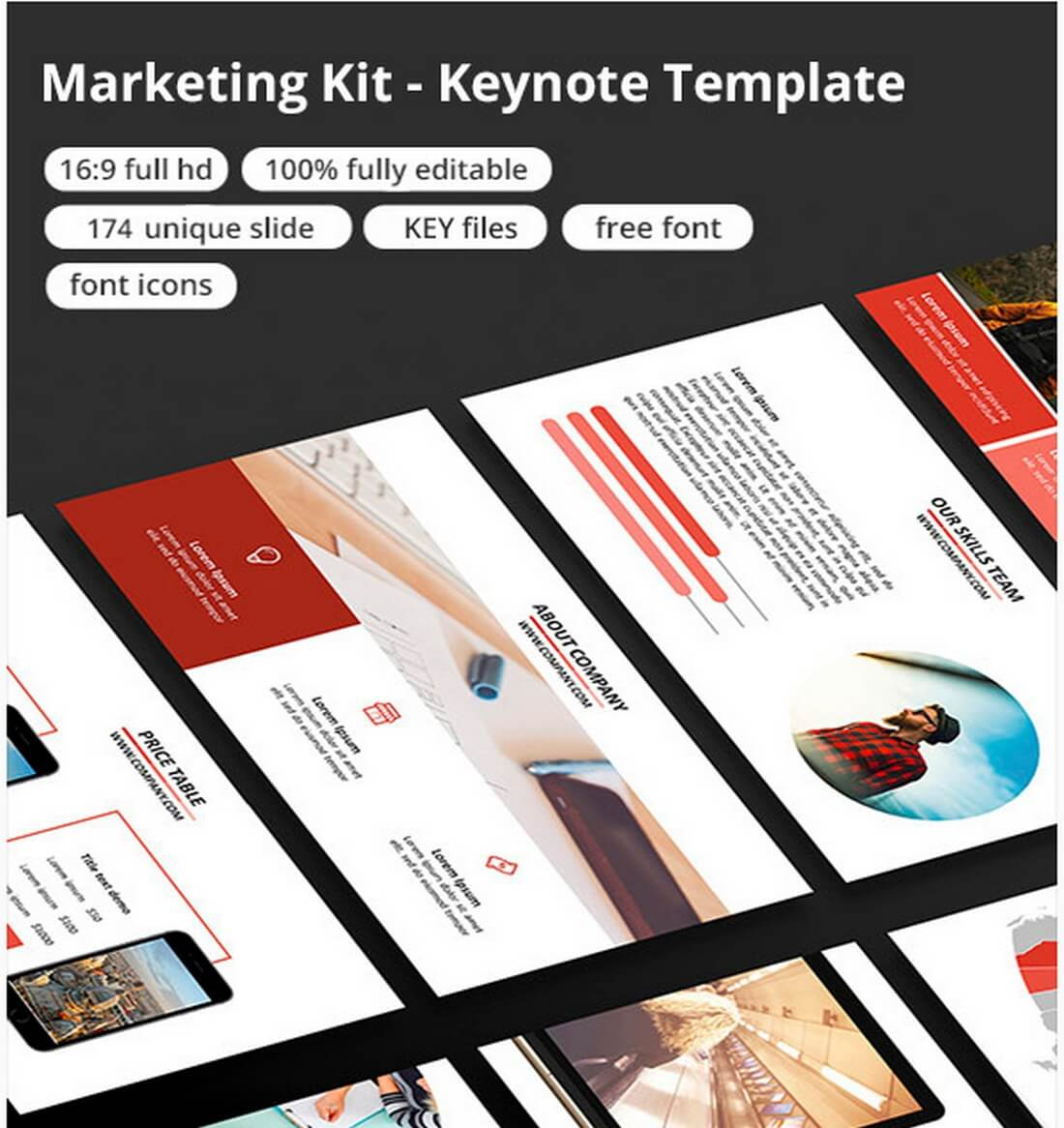 30 best keynote templates of 2018 design shack marketing kit keynote template maxwellsz