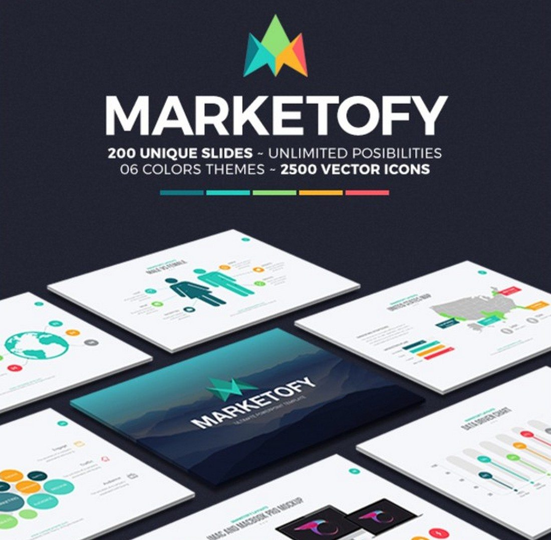 marketofy-1 30+ Best Keynote Templates of 2018 design tips