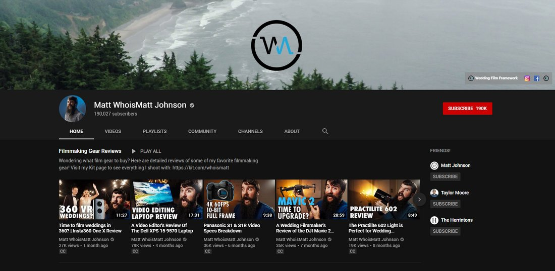 matt johnson youtube