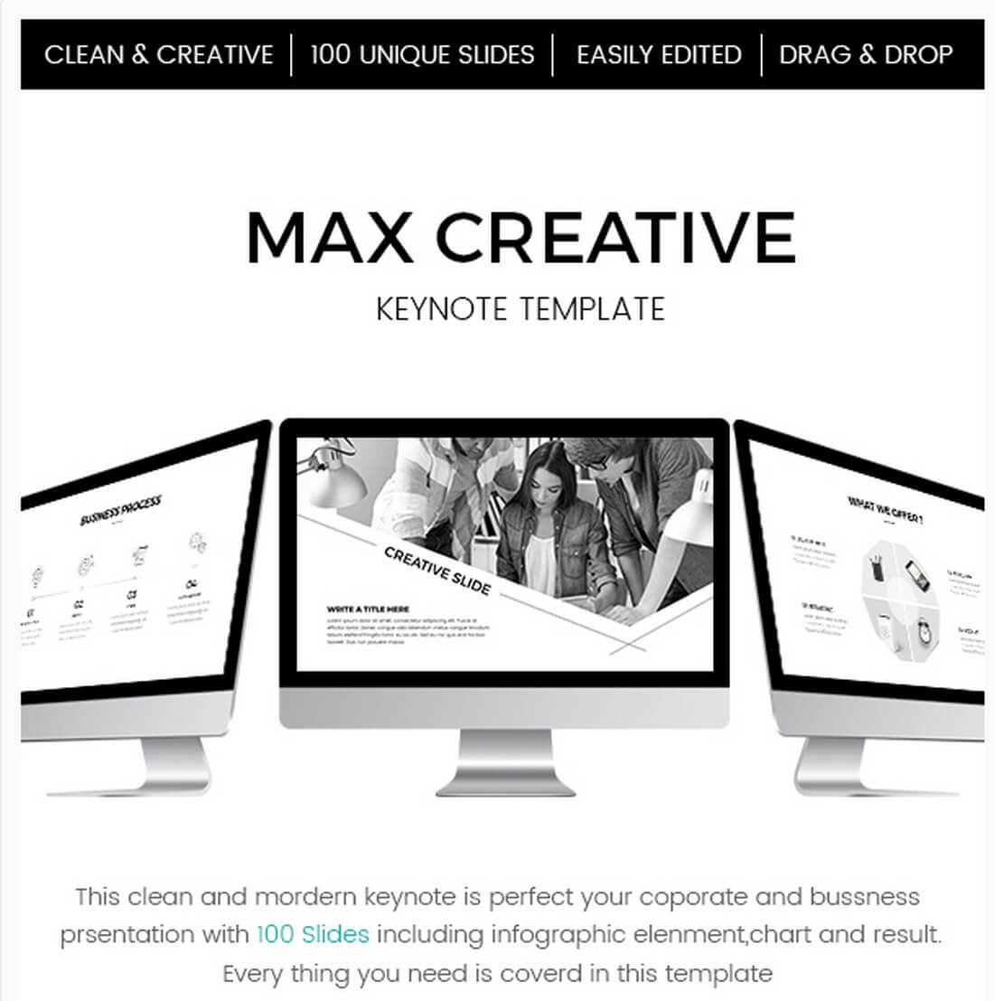 max-creative 30+ Best Keynote Templates of 2018 design tips