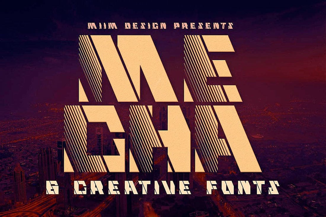 mecha 80s Fonts: A Retro Typographic Trend (+ Examples) design tips