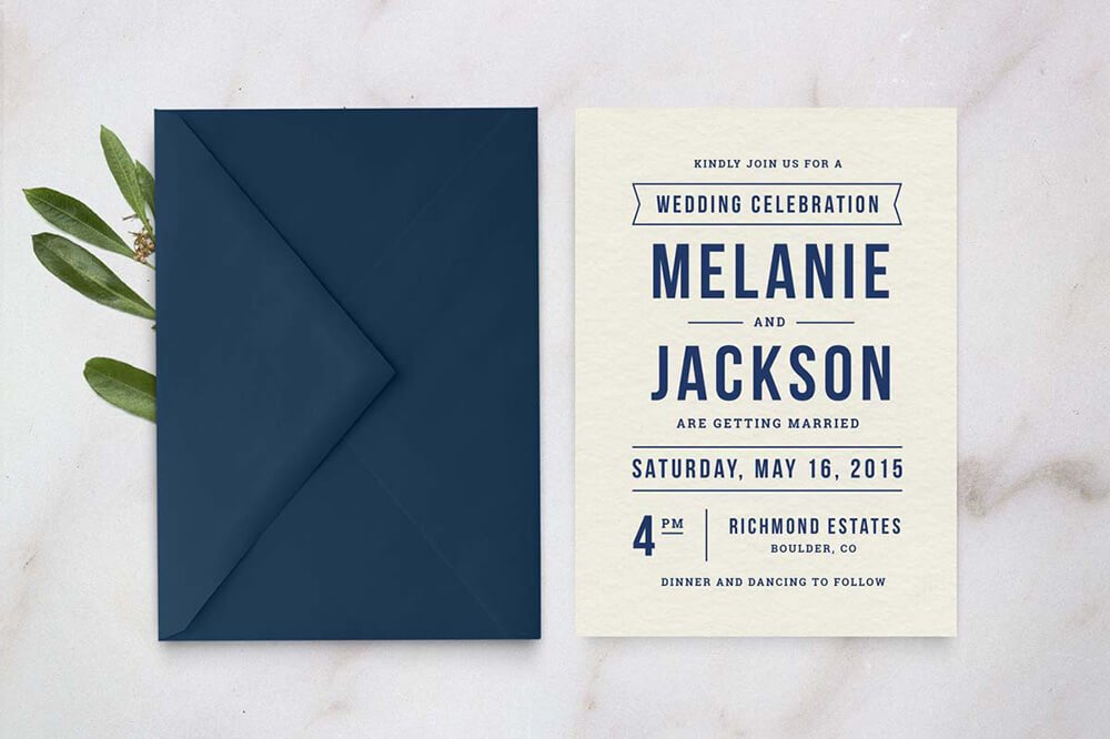 50 wonderful wedding invitation card design samples design shack wedding invitation template stopboris