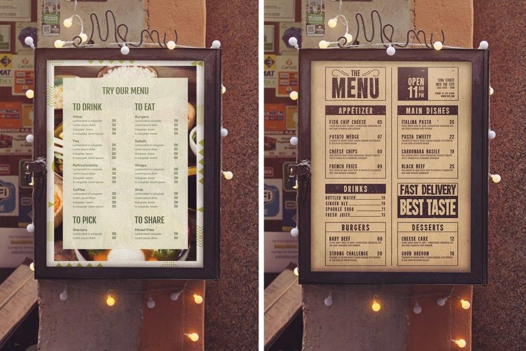 menu-mockups-13-1024x683 20+ Menu Mockup Templates (Free & Pro) design tips