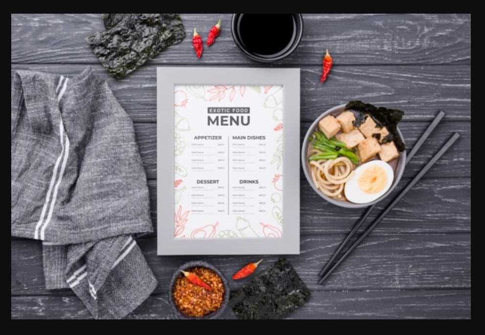 menu-mockups-14 20+ Menu Mockup Templates (Free & Pro) design tips