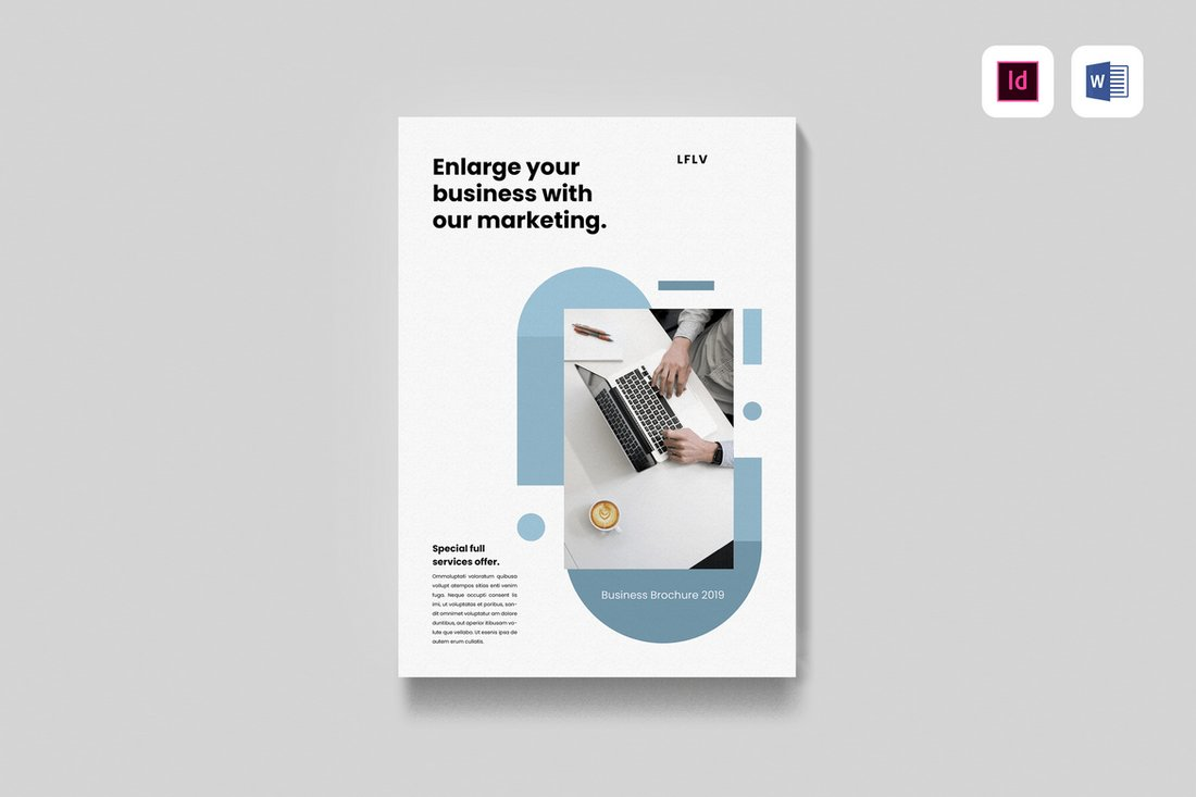 minimal-Brochure 40+ Best Microsoft Word Brochure Templates 2020 design tips  Inspiration|brochure|templates
