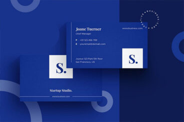 25+ Minimal Business Card Design Templates for 2021