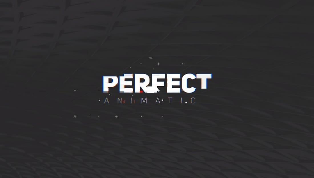 minimal glitch-adobe-premiere-pro-template