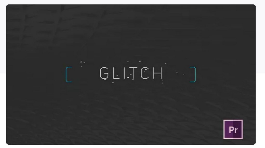 minimal-glitch-title-premiere-pro-template 30+ Best Premiere Pro Templates 2019 design tips