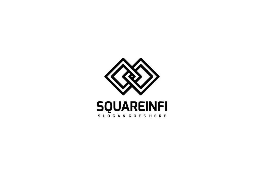 minimal logo example