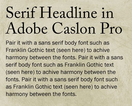 What font is best to write a paper with?