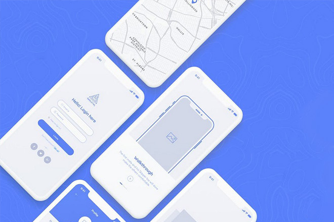 Mobile App Wireframe Templates