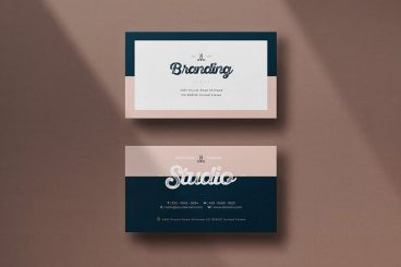 20+ Best Modern Business Card Templates 2020 (Word + PSD)