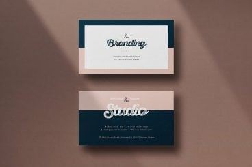 25+ Best Modern Business Card Templates 2021 (Word + PSD)