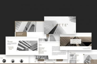 30+ Modern Professional PowerPoint Templates