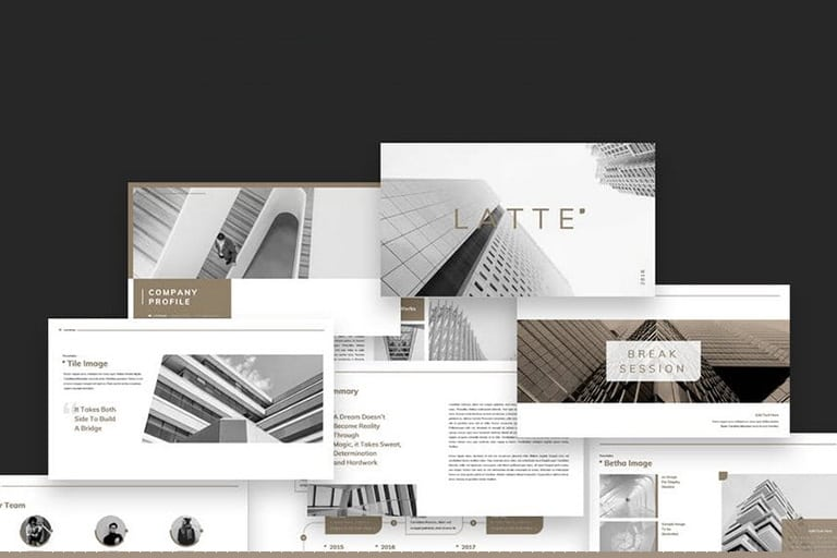 20 modern professional powerpoint templates design shack