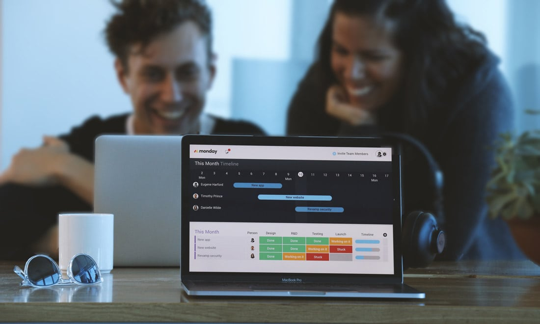 monday Monday: The Ultimate Team Management Tool design tips