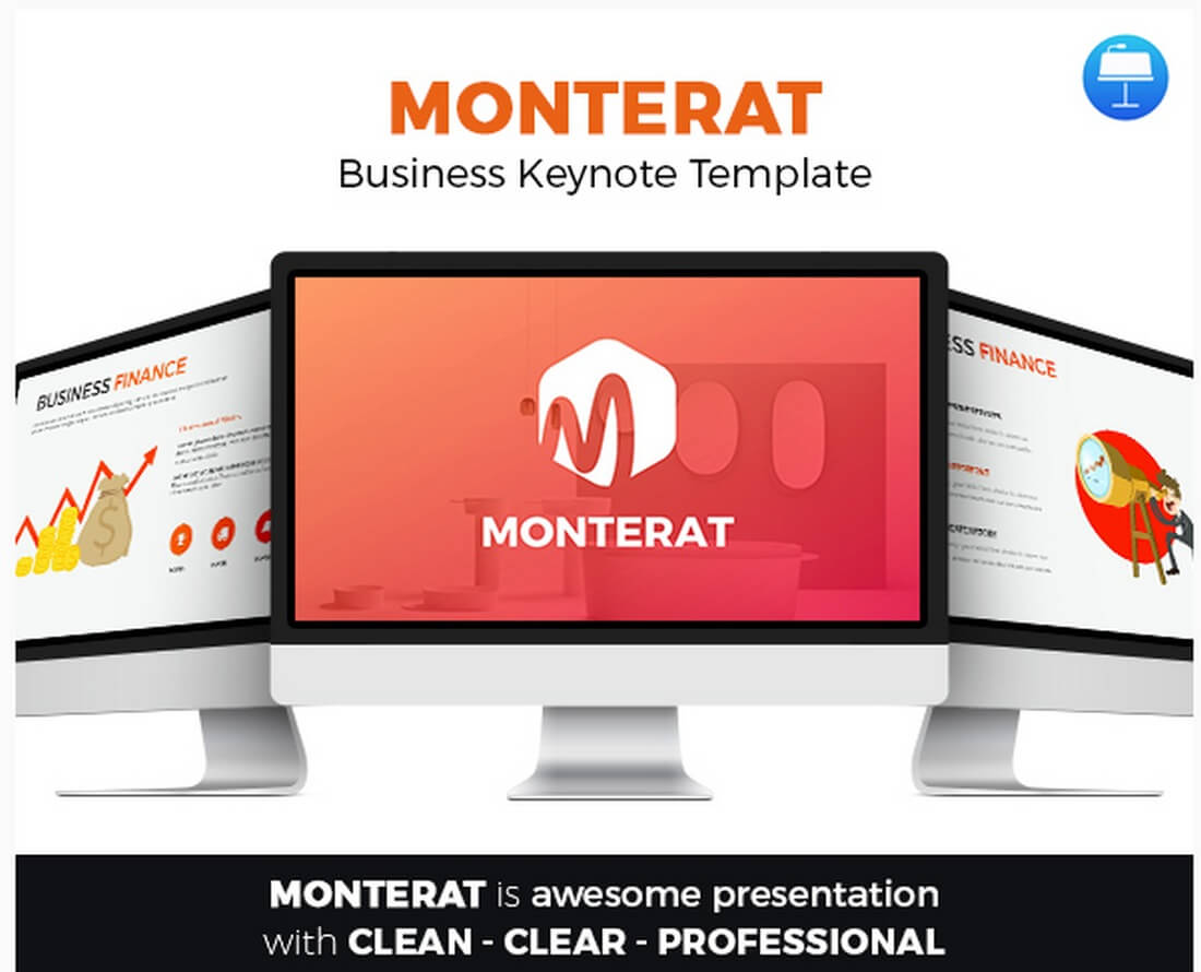 monterat 30+ Best Keynote Templates of 2018 design tips