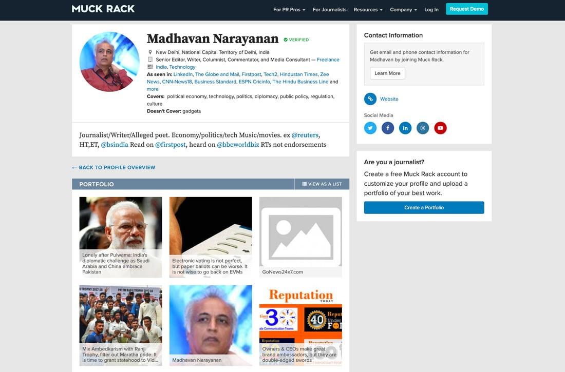 muck-mad 10+ Best Free Portfolio Website Tools & Templates in 2021 design tips