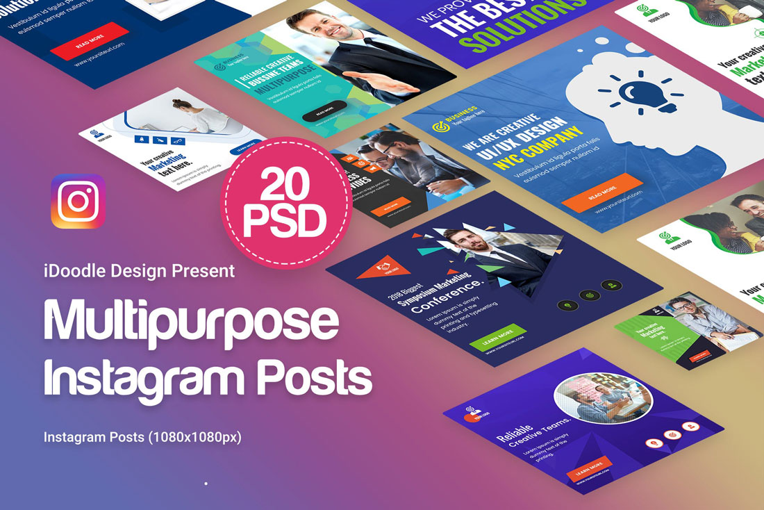 multi-insta How to Boost Your Social Media Presence With Templates design tips